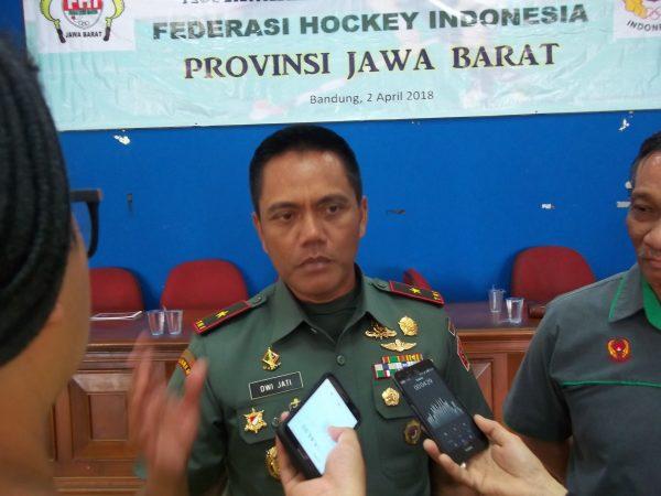 Dwi Jati Utomo Nakhodai Hockey Jabar