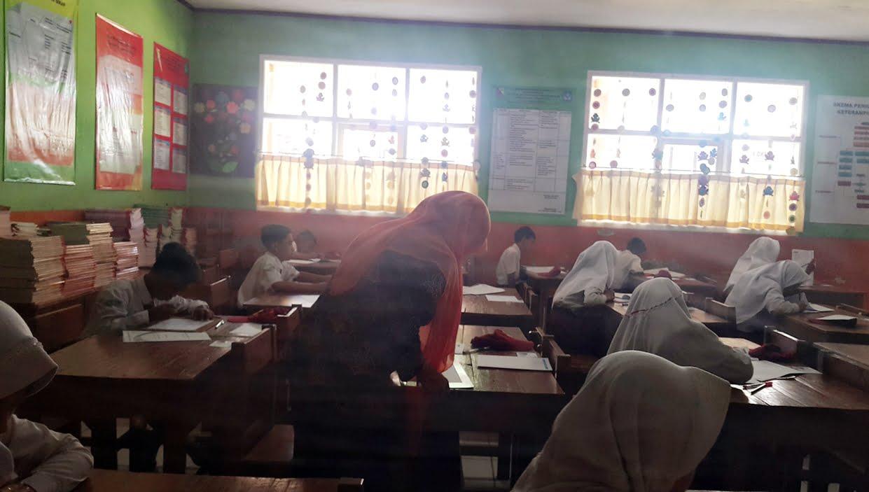 Hari Pertama USBN Tingkat Sekolah Dasar dan MI Berjalan Lancar