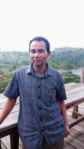 Manager Objek wisata Glamping Laksade H. Endang Suherman