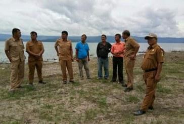 Wabup Samosir Tinjau Pembukaan Pantai Pasir putih