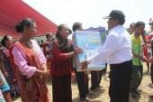 Rapidin Janjikan Pembangunan Pompa Air