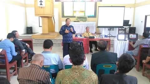 GKPI Resort Pangururan Laksanakan Seminar