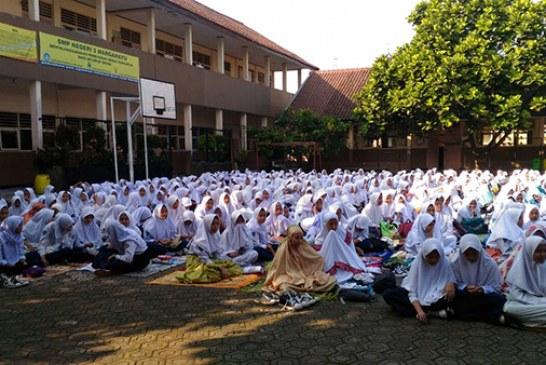 Siswa-siswi SMPN 2 dan 3 Margahayu Siap Hadapi PAT