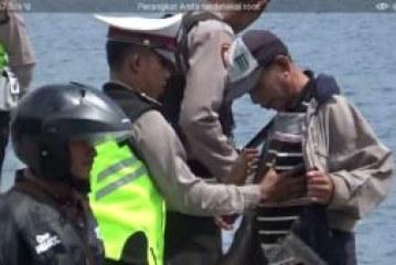 Ciptakan Situasi Nyaman, Polres Samosir Gelar Razia di Dermaga Ferry