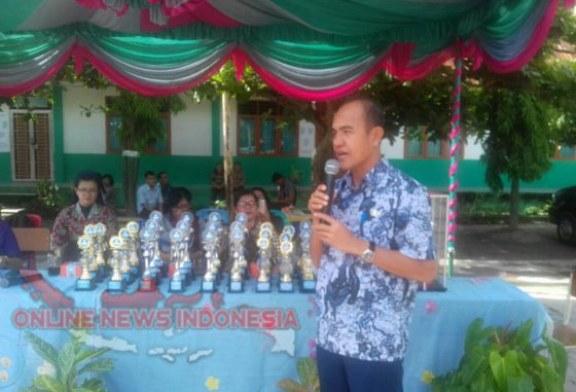 SMP Negeri 1 Simanindo Juara Umum Mata Pelajaran Tahun 2018