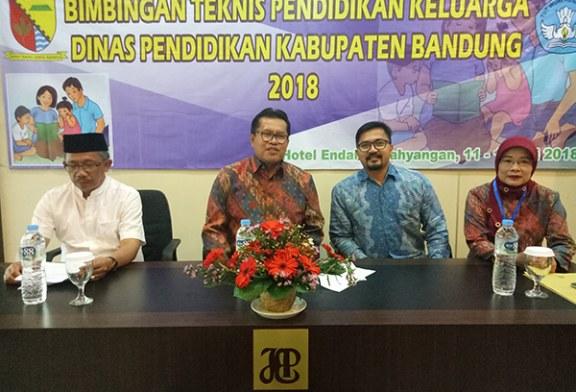 Disdik Kab Bandung Gelar Bintek Pendidikan Keluarga