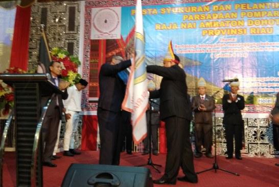 Pesta Syukuran dan Pelantikan Pengurus Parsadaon Pomparan
