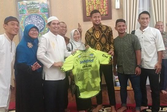 Halal bil Halal Wabup Bandung Dihadiri Pemain Persib