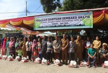 Safari Ramadhan 2018, PT. Inalum Salurkan 200 Paket Sembako