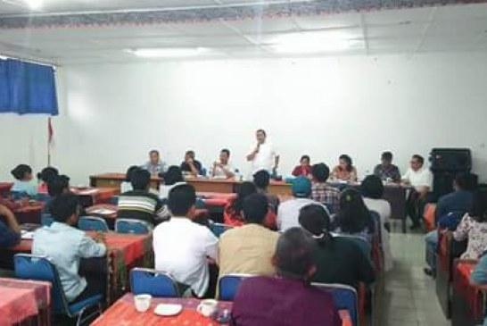 Rapat Koordinasi Percepatan Penyerapan APBDes Kec Simanindo
