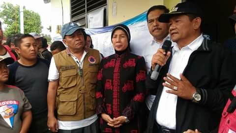 Gubsu Pantau Proses Pencarian Korban Kapal Tenggelam