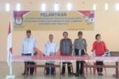 KPUD Samosir Melantik 322 Ketua KPPS Pada Pilgubsu 2018