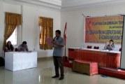 Panwaslih Kecamatan Pangururan melantik 70 PTPS