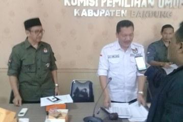 Rapat Pleno KPU Kab Bandung Dihadiri Seluruh PPK Kecamatan