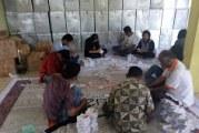 KPU Kab Samosir Libatkan Pekerja 30 Orang Mengerjakan Pelipatan Kertas Suara