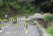 Jalan Lingkar Kabupaten Samosir Terancam Putus