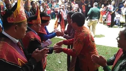 Pemkab Samosir Apresiasi Pesta Bolon Simataraja Raja Simarmata Se-Dunia.
