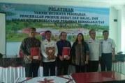 Kerjasama Fasilitasi Sertifikasi Halal  UMKM Park Samosir