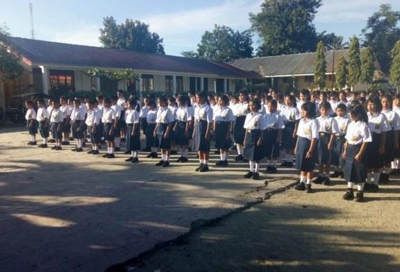 Ajaran Baru SMPN 2 Pangururan Gelar Bimbingan Displin dan Perkenalan