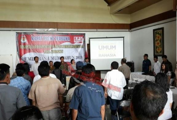 KPU Kab Samosir Tetapkan 92.443 DPS