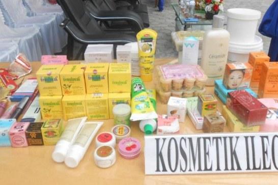 BBPOM Pekanbaru Sita Kosmetik Ilegal Senilai Rp1,5 Miliar