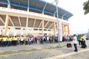 Beberesih di Stadion si Jalak Harupat Merupakan Implementasi Sabilulungan
