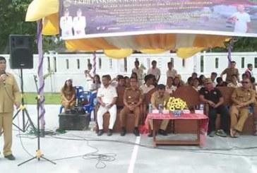 Wakil Bupati Samosir Buka Lomba Ketangkasan Baris Berbaris (LKBB).