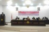 Rapat paripurna DPRD Kabupaten Samosir