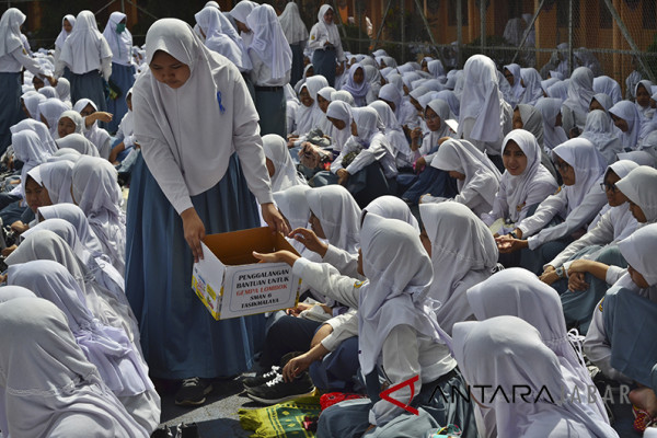 ASN Garut menggalang dana untuk warga Lombok