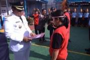 Bupati Samosir  Sebegai Inspektur Upacara HUT RI ke 73