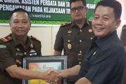 Kejari Rokan Hilir Terbaik Penanganan Pidum Se-Riau