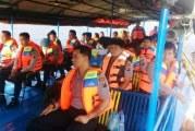 Kapolres Lakukan Pengawasan Kapal Penyeberangan Danau Toba