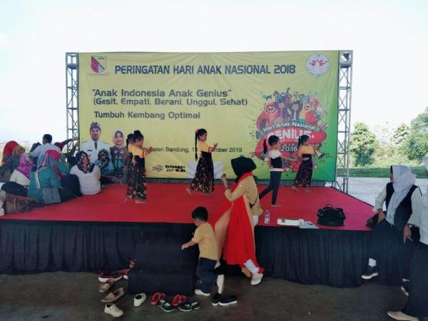 2000 Anak PAUD Kab Bandung Meriahkan Hari Anak