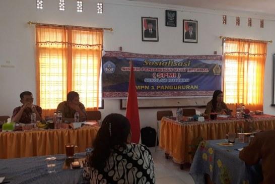 SPMI Sekolah Rujukan SMPN 1 Pangururan.