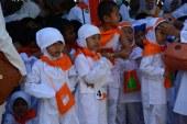 Ribuan Murid TK Praktek Manasik Haji