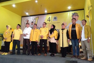 Workshop Launching Caleg Partai Golkar, Berharap Ada Penambahan Kursi
