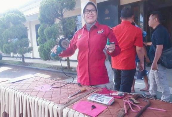 Polres Bandung Lumpuhkan Dua Pencuri Sepeda Motor