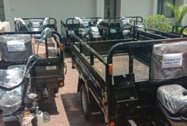 12 Kelompok Tani Dapat Bantuan Motor Roda Tiga
