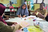 Biaya Mandiri, Sekolah ini Tergoda dan Bergegas Latih Gurunya Sendiri Pembelajaran MIKIR