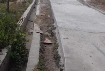 Pembangunan Rabat Beton dipersoalkan warga Ronggur Nihuta