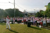 Ratusan Warga Ikut Senam Sehat Bersama Caleg PERINDO