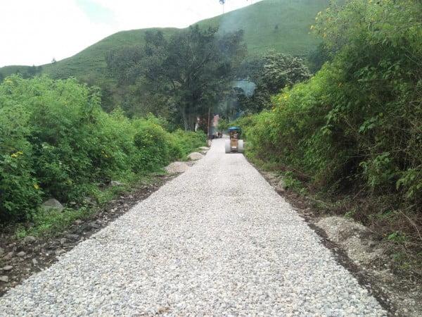 Jalan Lingkar Luar Samosir Terus Dibenahi