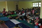 Ratusan Warga Mengungsi Akibat Banjir di Kab Bandung