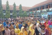 SMP 2 Cileunyi dan Disdik Menggelar Outdoor Class Room Day