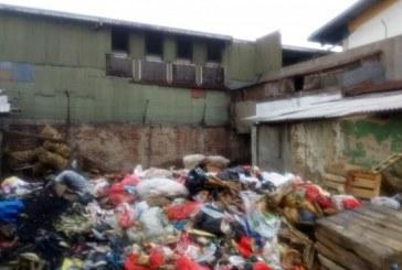 Sampah di Pasar Sayati Kembali Menggunung
