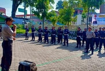 53 Satpam BUMN dan Swasta Dapat Pelatihan dari Polsek Pasirjambu
