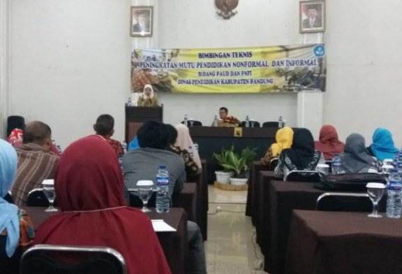 Disdik Gelar Bimtek Peningkatan Mutu Pendidikan Nonformal dan Informal Bidang PAUD dan PNFI