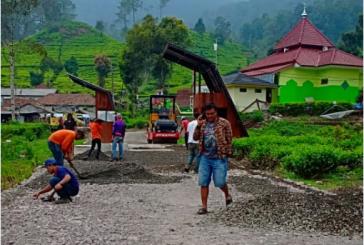 Sambut Tahun Baru, Objek Wisata Pemandian Air Ciwalini Berbenah