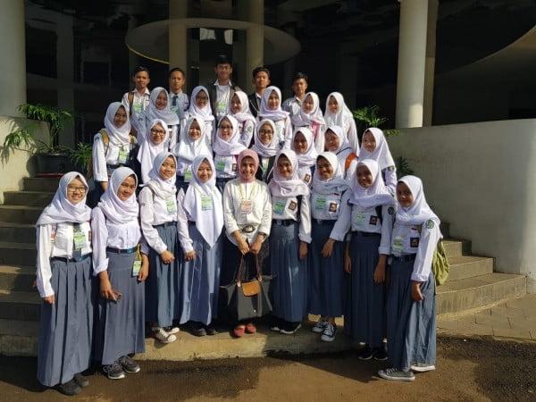 Kenali Perguruan Tinggi, SMAN 1 Ciwidey Kunjungi UPI dan Unjani