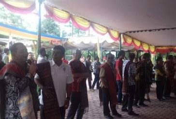 Pemuda Tuktuksiadong Laksanakan Even Budaya Gondang Naposo.